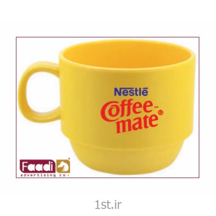 عکس لیوانانواع لیوان پلاستیکی تبلیغاتی در رنگ بندی مختلف کد 124