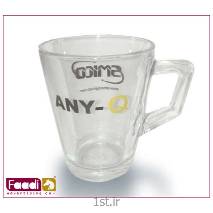 عکس لیوانلیوان شیشه ای تبلیغاتی کد LM 26