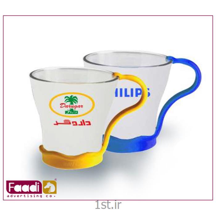 عکس لیوانلیوان شیشه ای تبلیغاتی کد LM573