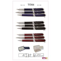 عکس سایر خودکارهاخودکار فلزی یوروپن تبلیغاتی کد titan
