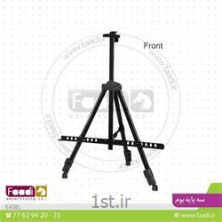 عکس سه پایه دوربینسه پایه بوم فلزی عکاسی کد F