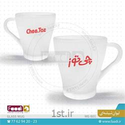 چاپ لوگو روی انواع لیوان شیشه ای تبلیغاتی کد G601