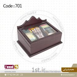 عکس جعبه نگهداری و صندوقجعبه پذیرایی چای و قهوه کد A701