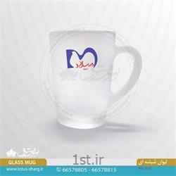 عکس لیوانفروش انواع لیوان شیشه ای مات ارزان کد C602