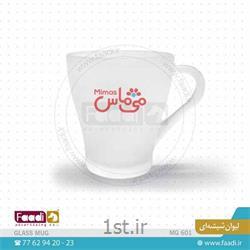 لیوان شیشه ای مات تبلیغاتی ارزان کد C601