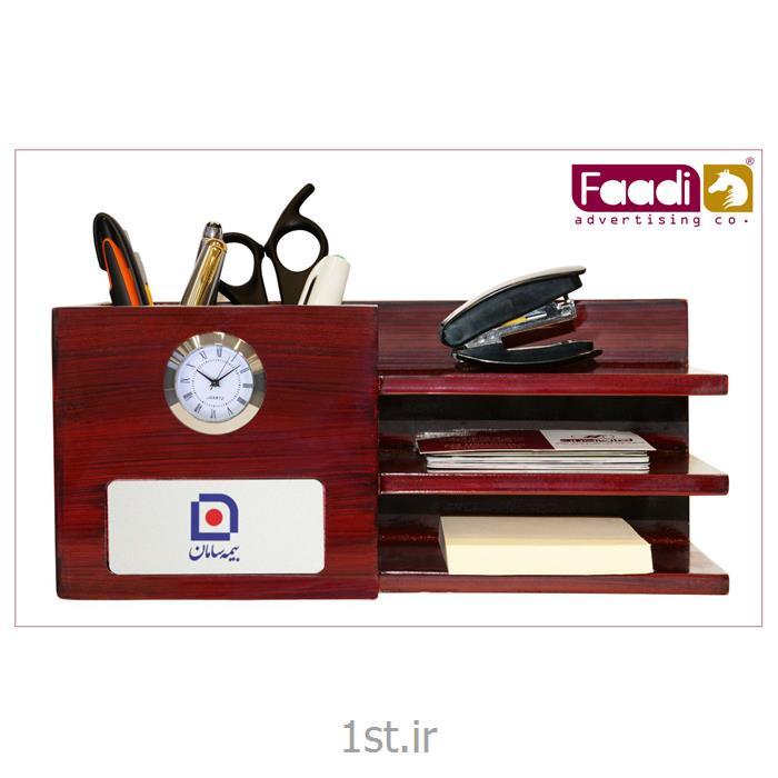 عکس ساعت رو میزیساعت رومیزی تبلیغاتی کد 1-5601