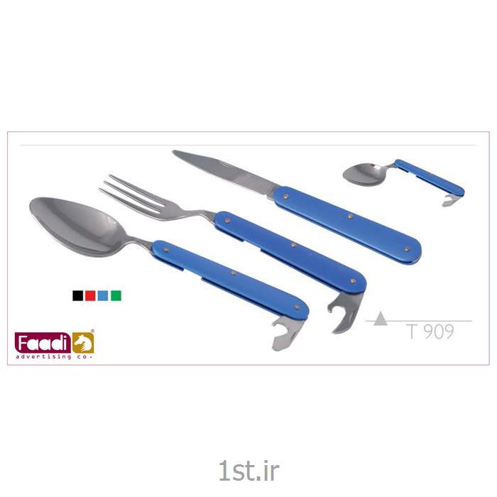 عکس سایر ظروف غذاخوریست قاشق چنگال چندکاره  تبلیغاتی کد t 909