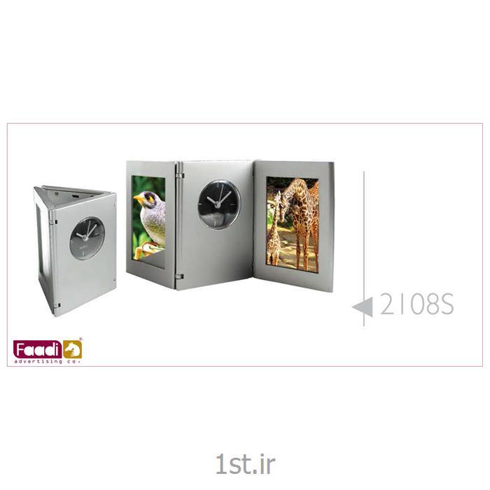 عکس ساعت رو میزیساعت رومیزی تبلیغاتی کد 2108s