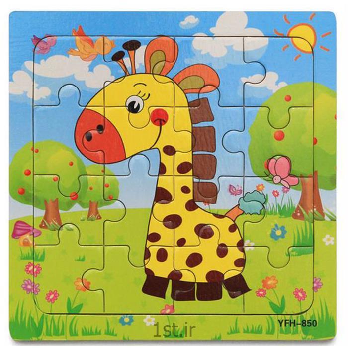 پازل کارتونی تبلیغاتی کد 154