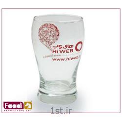 لیوان شیشه ای تبلیغاتی کد LM 313