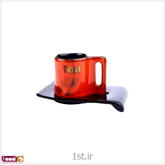 لیوان سرامیکی تبلیغاتی با چاپ رنگی کد LC180