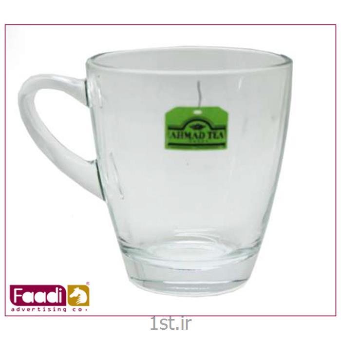 لیوان شیشه ای تبلیغاتی کد LM 500
