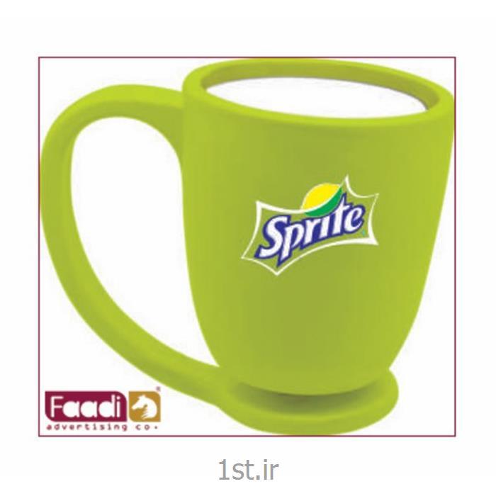 لیوان پلاستیکی تبلیغاتی دسته دار کد 129