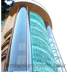 عکس سایر خدمات ساخت و ساز و مشاوره املاکنمای دو پوسته ساختمان