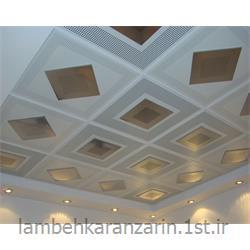 عکس پوشش سقفسقف کاذب فلزی تایل ترکیبی