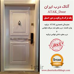 درب ضد سرقت دو قاب سفید