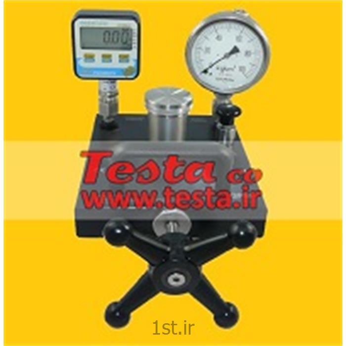 عکس سایر ابزار آلات اندازه گیری فشارکالیبراتور فشار-کامپراتور فشار هیدرولیکی Model : GPM/2, 0 to 700bar