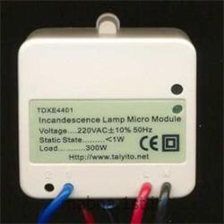عکس سیستم هشدار هوشمندماژول کنترل روشنایی تک پل دیمر