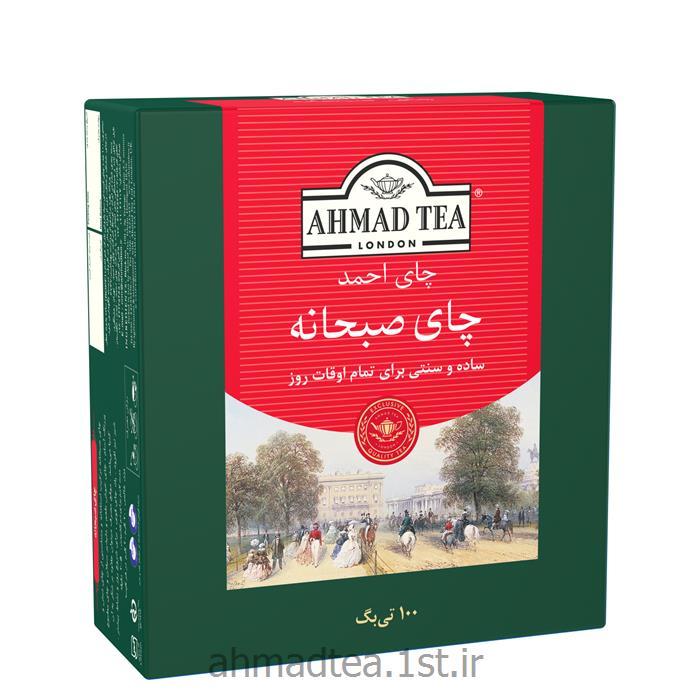 چای کیسه ایی صبحانه احمد 100 عددی