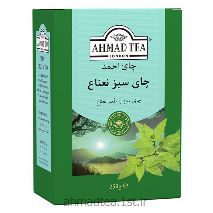 چای سبز احمد با طعم نعناع