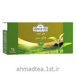 چای سبز کیسه ای احمد