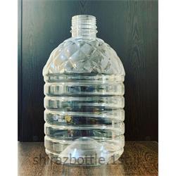 بطری 3 لیتری دهانه 45 گرد