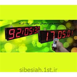 نمایشگر ساعت و تقویم دیجیتال با 7segment
