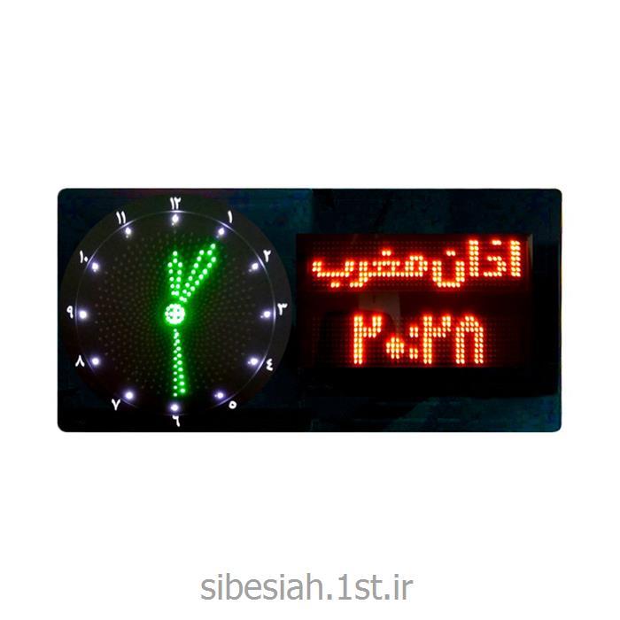 تابلو ساعت دیجیتال LED مساجد