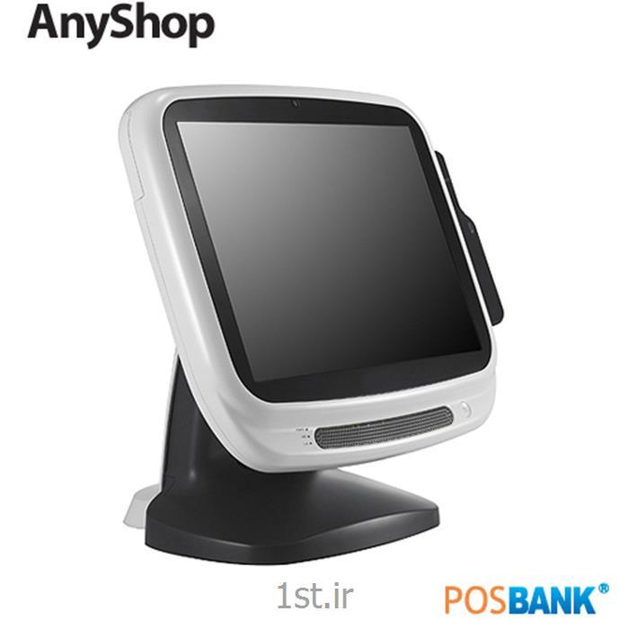 عکس میز صندوق فروشگاهی (صندوق پول و کشوی فروشگاهی)پوز لمسی بانکی POSIFLEX