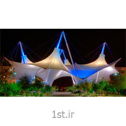 عکس پوشش سقفسازه پارچه ای Fabric Memberance