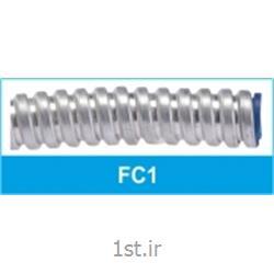 عکس لوله خرطومی کابللوله خرطومی فلزی فلکسی ساده تیپ FC1