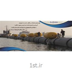 عکس لوله های کامپوزیتیلوله و اتصالات مورد نیاز پروژه های دریایی