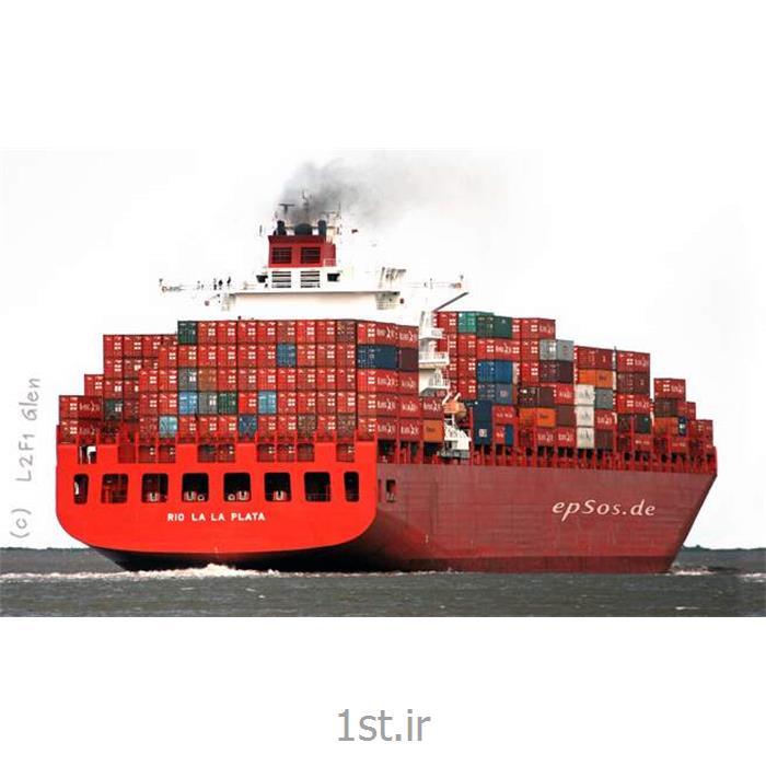 عکس کانتینرحمل و نقل بین المللی کانتینری