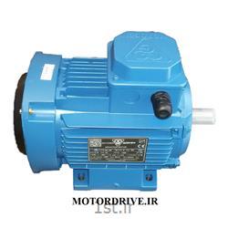 عکس الکترو موتور جریان متناوب (AC)الکتروموتور چهار قطب 3 کیلووات سه فاز فریم آلومینیوم موتوژن