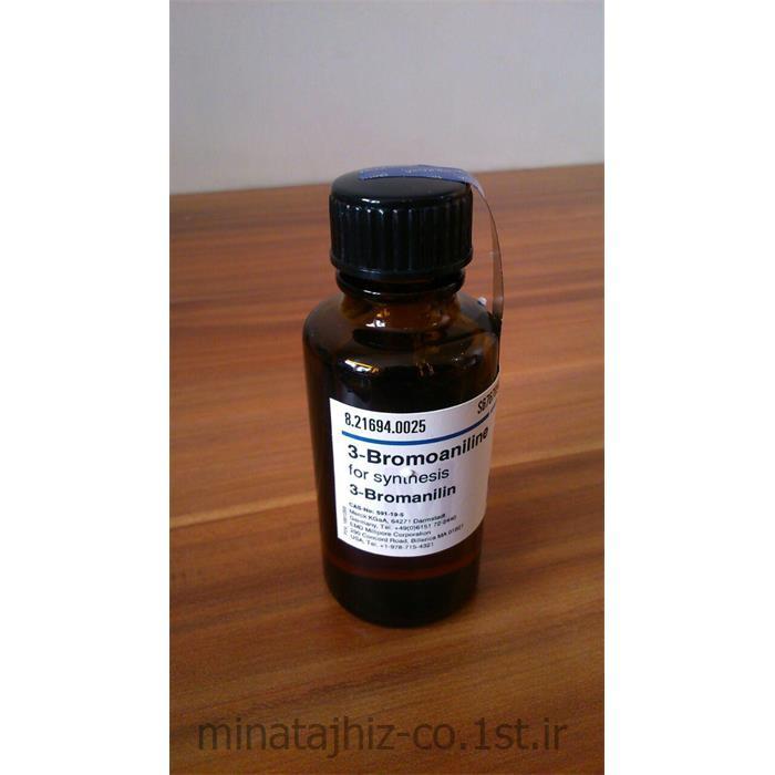 عکس سایر مواد شیمیایی آلی3-برومو آنیلین مرک 1-Amino-3-bromobenzene