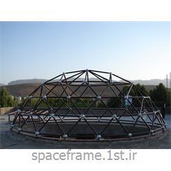 طراحی و اجرای سازه فضایی سایه بان ساختمان