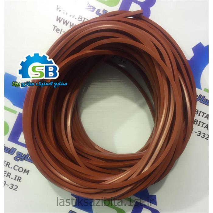 عکس سایر قطعات مکانیکیپروفیل سیلیکونی بهداشتی (Silicon rubber)