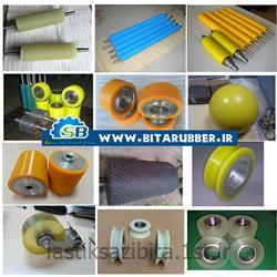 روکش غلطک لاستیکی صنایع فولاد سازی ذوب آهن
