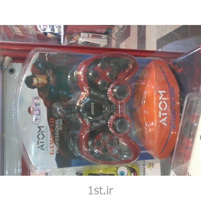 عکس دسته بازی ( Joysticks ) و کنترل کننده های بازیدسته بازی دوبل شوک دار خفاشی