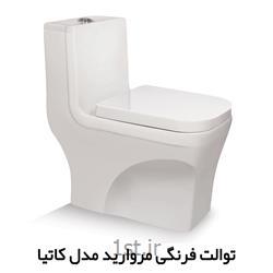 توالت فرنگی کاتیا چینی مروارید