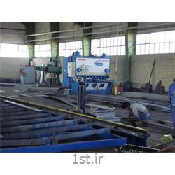 برش سازه اسکلت فلزی ساختمان
