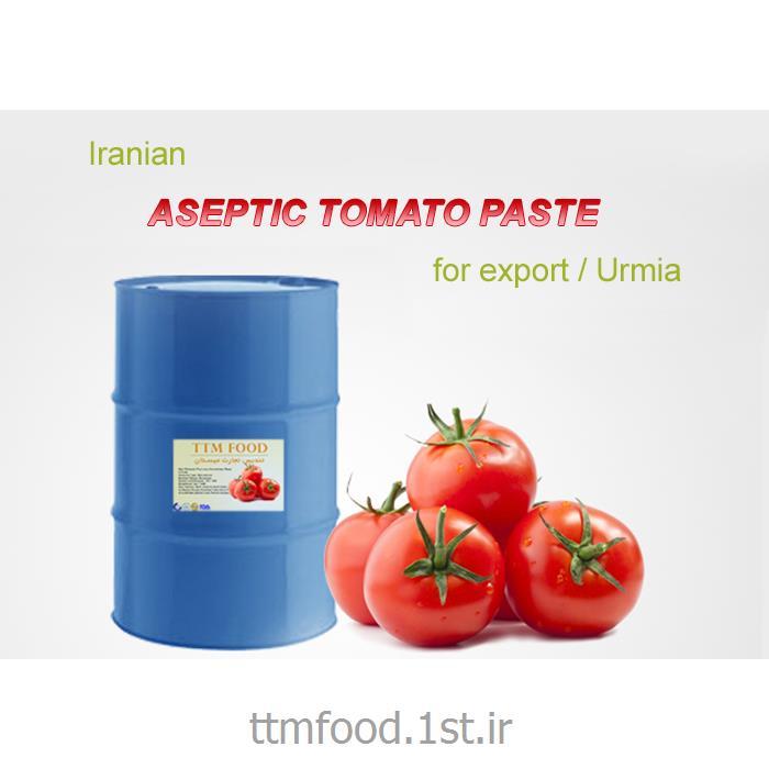 رب گوجه فرنگی اسپتیک با کیفیت صادراتی