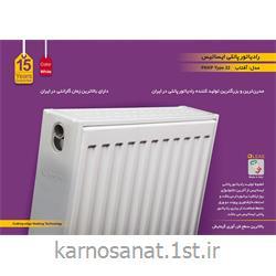 عکس رادیاتور، سیستم گرمایش از کف و قطعاترادیاتور پانلی ایساتیس مدل آفتاب تیپ 22 سایز 120