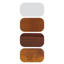 پروفیل میانی متحرک چهار کانال سفید و لمینیت طرح چوب مدل 6005