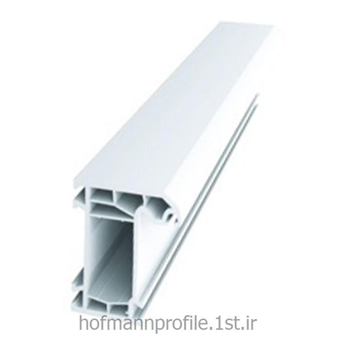 عکس پنجرهپروفیل سفید چهار کانال فریم پهن مدل 6002