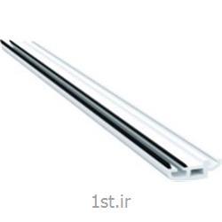 پروفیل زهوار شیشه سه جداره سری 60  سفید و لمینیت طرح چوب مدل 6010