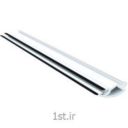 پروفیل زهوار شیشه دو جداره سری 70 سفید و لمینیت طرح چوب مدل 7009