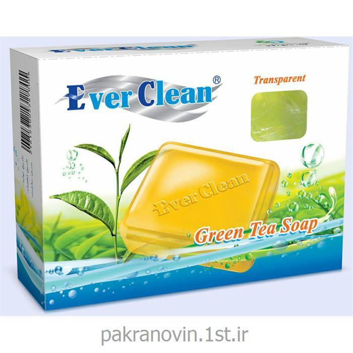 صابون گلیسرینه شفاف چای سبز  EVER CLEAN GREEN TEA