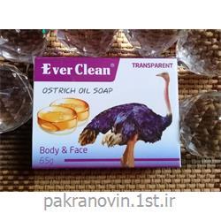 عکس صابونصابون گلیسیرینه روغن شترمرغ اورکلین (Everclean Ostrich oil soap)