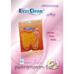 خلال دندان کمانی اورکلین floss picks EVER CLEAN